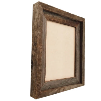 8 x 10 picture frame - reclaimed wood