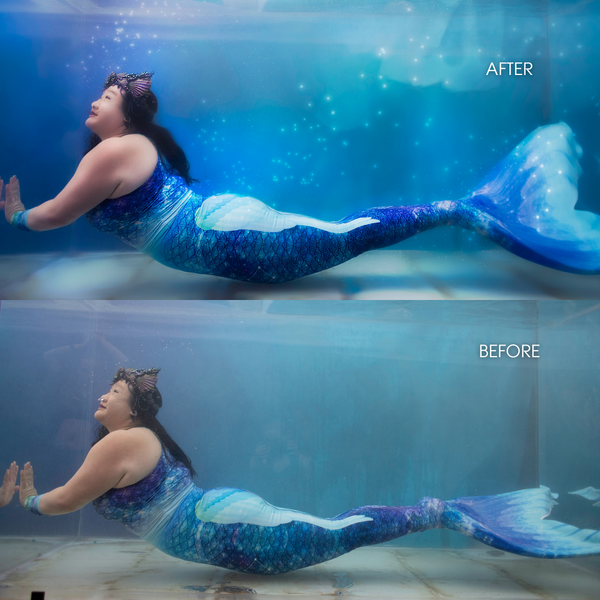 Mermaid Photo Edit