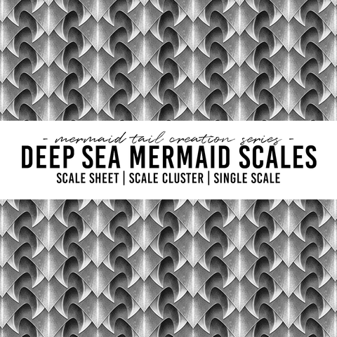 Deep Sea Mermaid Scales