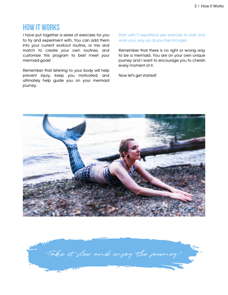 Land Workout for Mermaids eBook