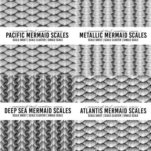 Mermaid Scale Bundle