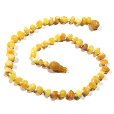 Children's Baltic Amber Super Butter Necklace with Pop Clasp