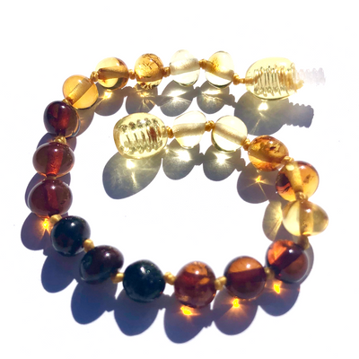 Baltic Amber Rainbow Round