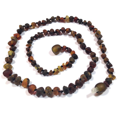 Baltic Amber Asteroid Necklace