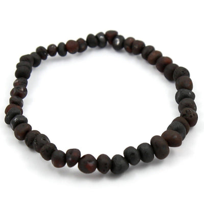 Baltic Amber Coffee Bracelet
