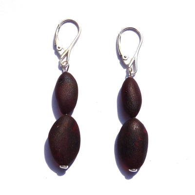 Baltic Amber Coffee Earrings