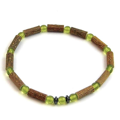 Hazelwood Green Peridot Gemstone Bracelet