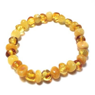 Baltic Amber Milk & Honey Bracelet