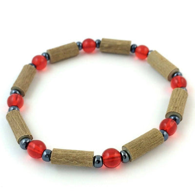 Hazelwood Red & Hematite