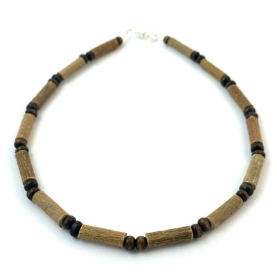 All Brown Hazelwood Necklace