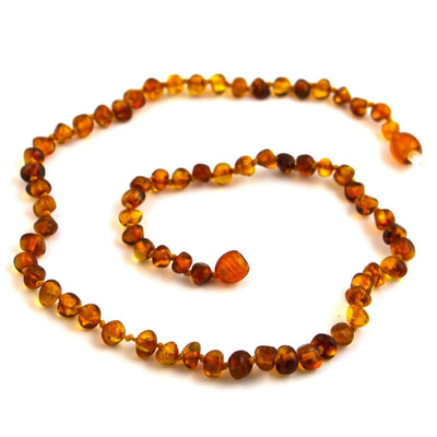 Baltic Amber Cognac Necklace