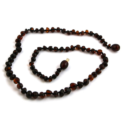 Baltic Amber Dark Cherry Necklace