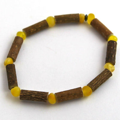 Hazelwood & Baltic Amber Milk & Butter Bracelet