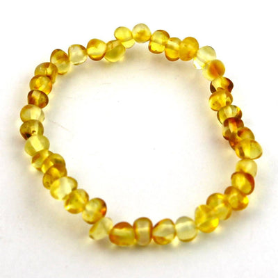 Baltic Amber Lemon Bracelet