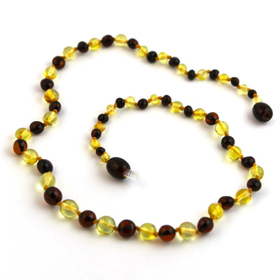Baltic Amber Lemon & Cherry Necklace
