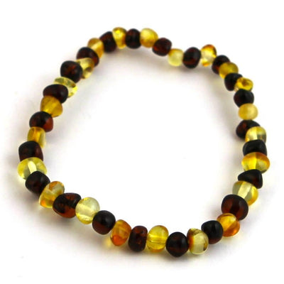 Baltic Amber Lemon & Cherry Bracelet
