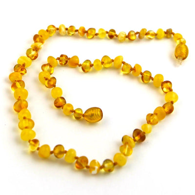 Baltic Amber Milk & Honey Necklace