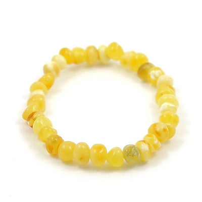 Baltic Amber Milk & Butter Bracelet