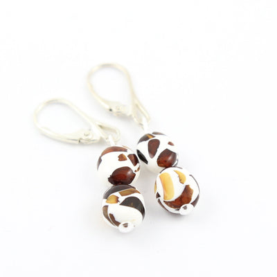Baltic Amber Mosaic Earrings