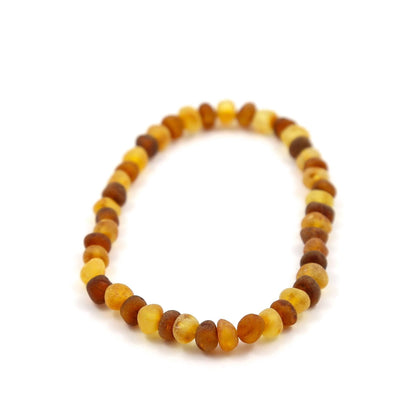 Baltic Amber Nutmeg & Lemondrop Bracelet