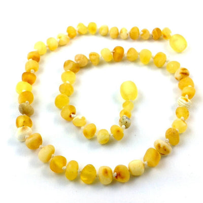 Raw Baltic Amber Super Butter Necklace