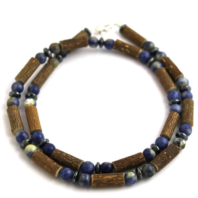 Hazelwood Sodalite Gemstone Necklace