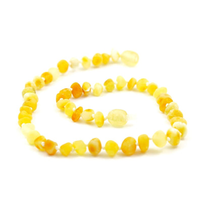 Children's Baltic Amber Super Butter Necklace with Twist Clasp
