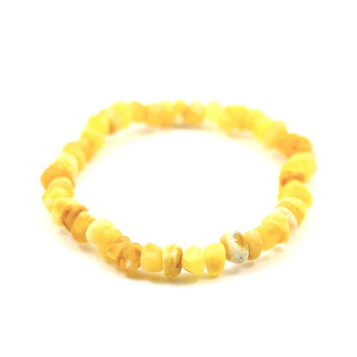 Raw Baltic Amber Super Butter Bracelet