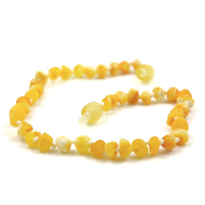 Raw Baltic Amber Super Butter Anklet
