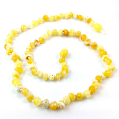 Baltic Amber Milk & Butter Necklace