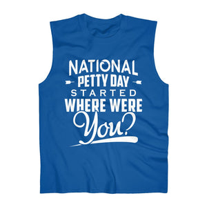 Open image in slideshow, National Petty Day Sleeveless Tank