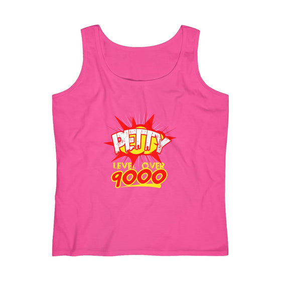Petty Level Over 9000 Women's Tank