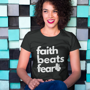 Faith Beats Fear Classic T-shirt