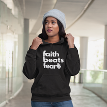 Faith Beats Fear Classic Hoodie