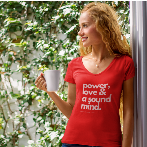 Power Love Sound Mind T-shirt