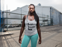 Faith Beats Fear Classic Tank