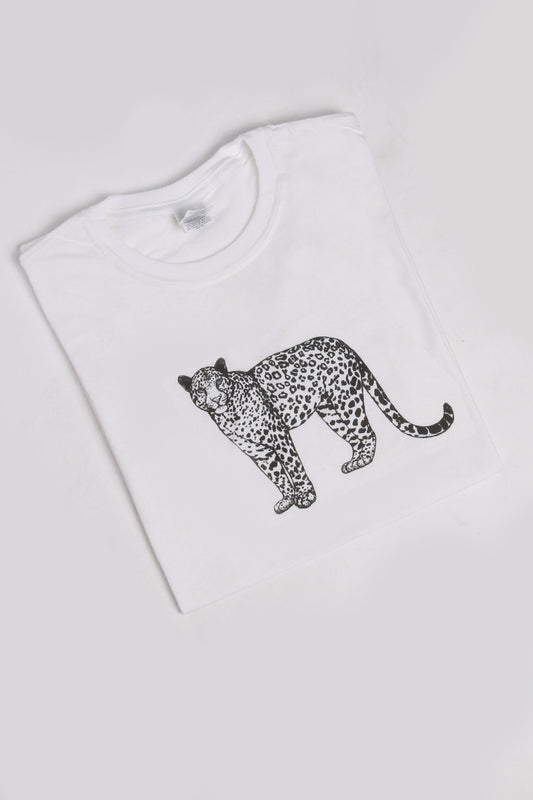 Leopard Graphic Oversized T-shirt