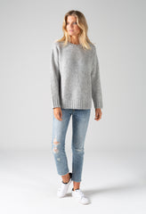 EVA KNIT - GREY MARLE