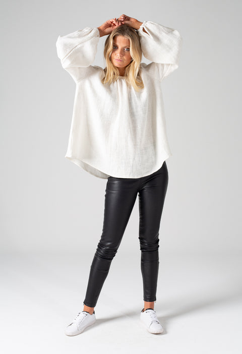 INES TOP - WHITE