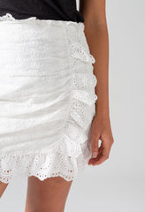 frill mini - close up