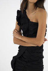ISLA DRESS - BLACK