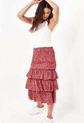 MAYA SKIRT - RED MEADOW
