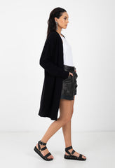 SMITH CARDI - BLACK