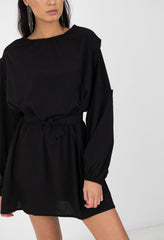 CARTER DRESS - BLACK