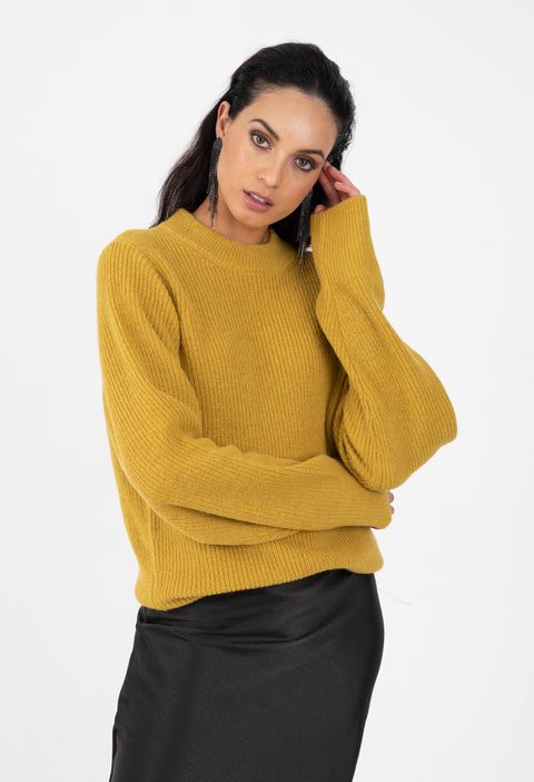 HARPER KNIT - GOLD