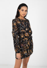 CARTER DRESS - WOODSTOCK PRINT