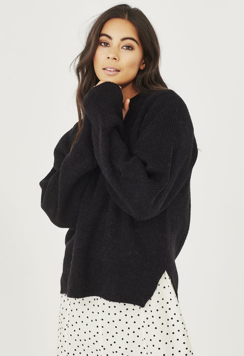 HARPER KNIT - BLACK