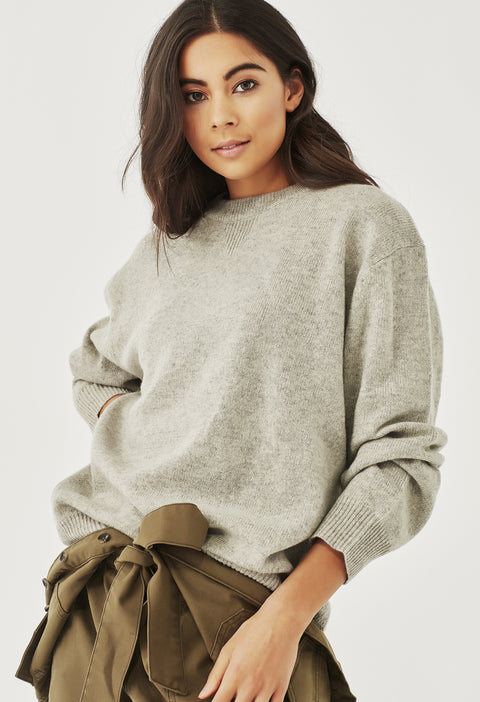 ELLA KNIT - LIGHT MARLE