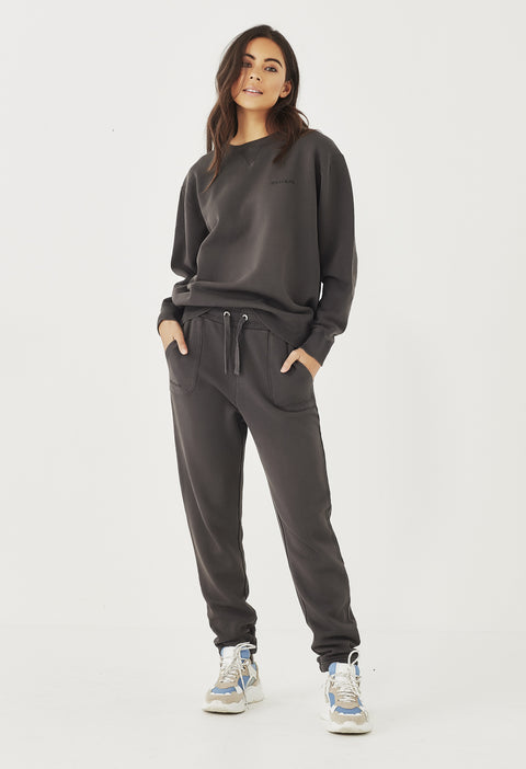 LOGO TRACKPANT - AGED BLACK