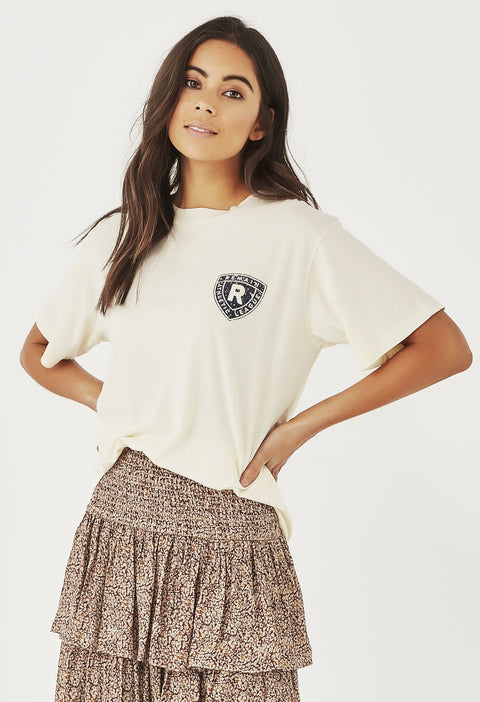ATHLETIC CLUB TEE - IVORY